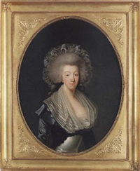 porträtt av madame la comtesse d'artois by joseph boze