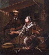holländische genreszene by dominicus van tol