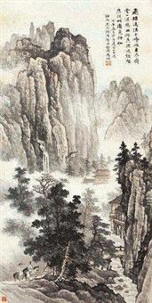 溪山行旅 by ma dai