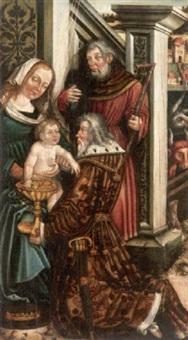 anbetung der könige by leonhard beck