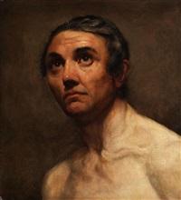 portrait eines mannes by théodore géricault