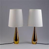 zwei tischleuchten (pair) by mauri almari