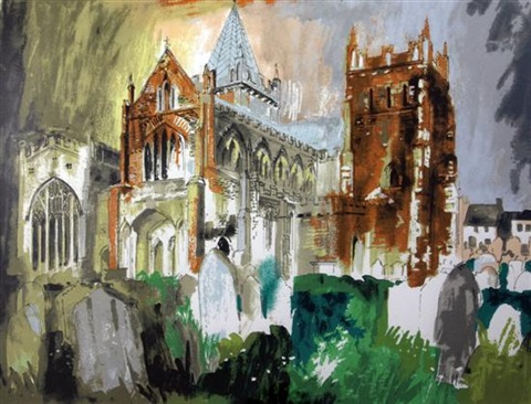 ottery st mary devon by john piper