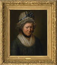 portrait of a lady by rembrandt peale