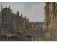 the bridge of sighs, st. john's, cambridge by frederick nash