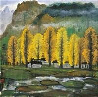 landscape by li fengmian
