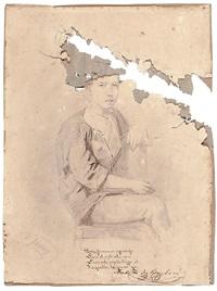 retrato de antonio de barberá by mariano josé maría bernardo fortuny y carbó