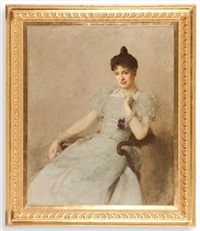 the portrait of alice fairfax rhodes by sir william quiller orchardson