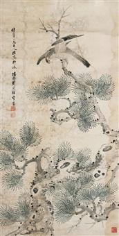 松鹰图 by liu tingzhi