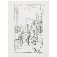 heads and stools by alberto giacometti