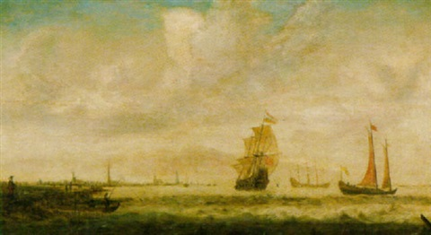 marine by hendrick van anthonissen