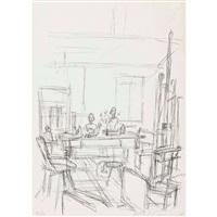 im atelier by alberto giacometti