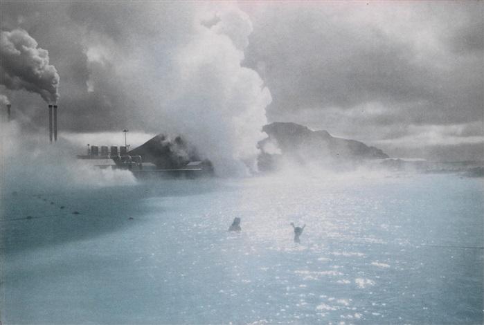 the blue lagoon by olafur eliasson