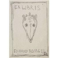 ex libris by alberto giacometti