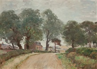 country lane by alexander brownlie docharty