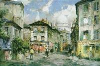 paris, montmartre, sacre coeur by reinhard bartsch