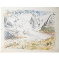 gletscher by erich heckel