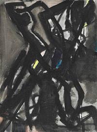 structure noire ii by mogens andersen