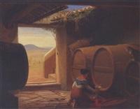 italienerinde, der tapper rodvin i en vinkælder by hans jörgen hammer