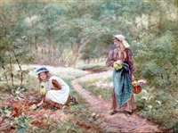 picking primroses by walter duncan