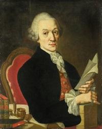 portrait des münchner hofmedikus joseph karl schwemmer by johann jakob dorner the elder
