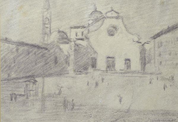 piazza santo spirito by lodovico tommasi