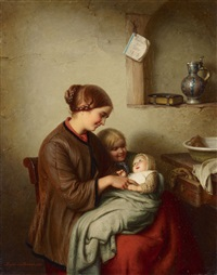 the first smile by johann georg meyer von bremen