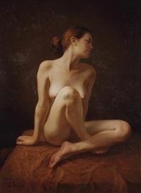 女人体 (nude) by fang renfu liu guotai