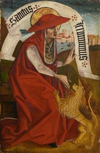 der evangelist johannes und der hl. hieronymus by austrian school (15)