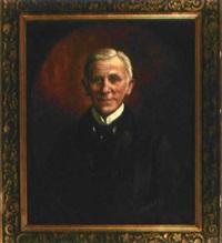 porträt eines elegant gekleideten herrn by elsbeth grossmann