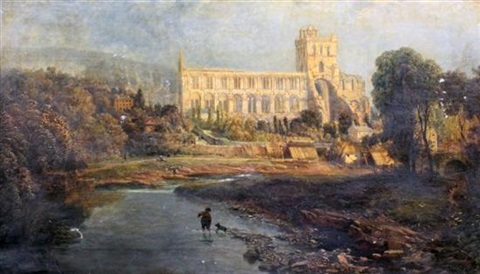 jedburgh abbey scotland by charles pettitt