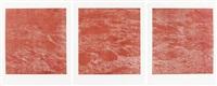 schwarzwasser ii (triptych) by franz gertsch