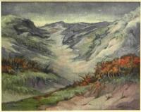 verschneite hochgebirgslandschaft by wim (johannes wilhelm) helder