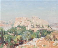 the acropolis by william wright campbell