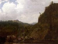 mill in the adirondacks by joseph vollmering