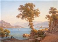 at a north italian lake by salomon corrodi