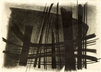 abstrakte komposition by jürgen von hündeberg
