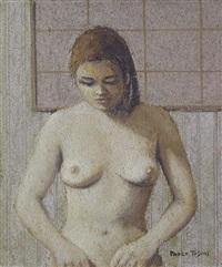 ragazza al bagno by paolo toschi