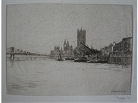 an interesting selection of the artist's prints (18 works) by mortimer luddington menpes