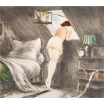 attic room by louis icart