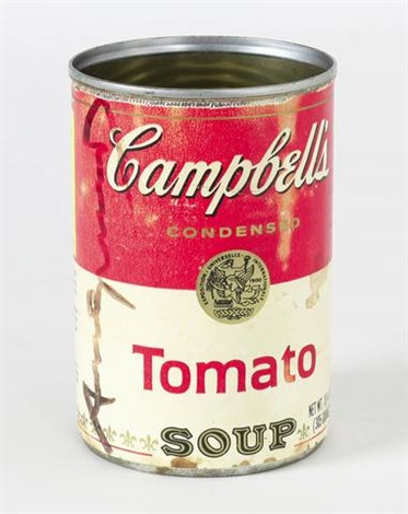 campbells soup can tomato soup by andy warhol on artnet. Black Bedroom Furniture Sets. Home Design Ideas