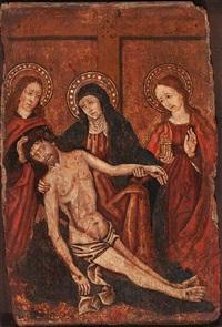 lamentación sobre cristo muerto by spanish school (15)