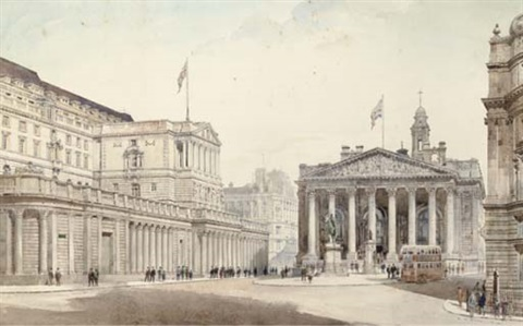 the royal exchange london by arthur charles fare