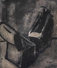 illustration zur novelle tutta colpa di giosue von gian francesco marini by mario sironi