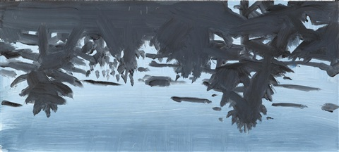 blue forest reflection by alex katz