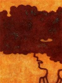 portret in rode wolk by raph de haas