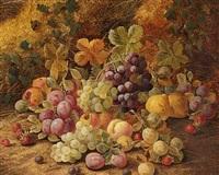 opstilling med frugter i en kurv by horace mann livens