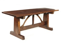 refectory table by ernest william gimson