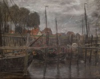 vue portuaire by richard baseleer