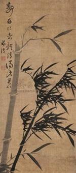 墨竹 (bamboo) by jiang qing